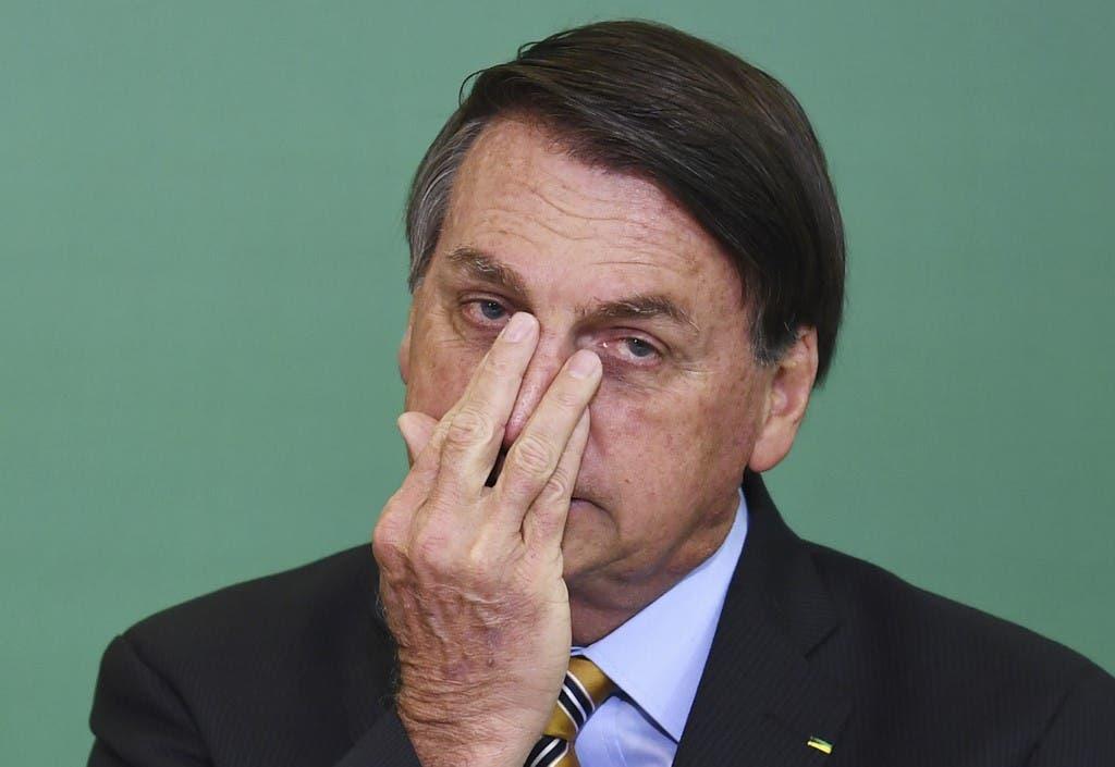 Brazilian President Jair Bolsonaro (File photo: AFP)