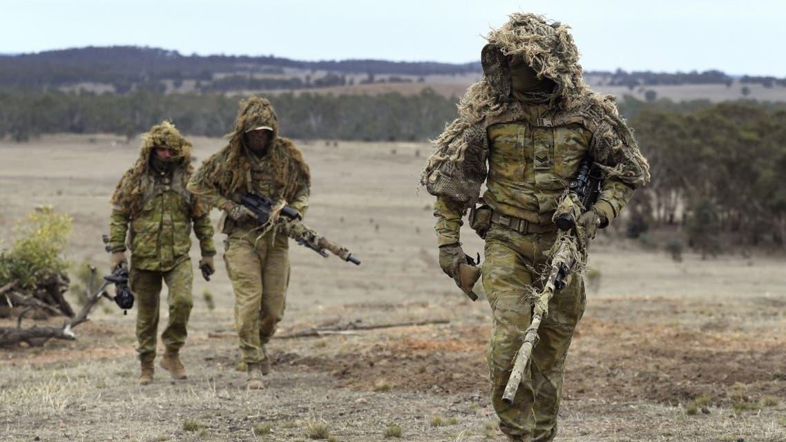 عناصر من الجيش الإسترالي - أرشيفية من فرانس برس
