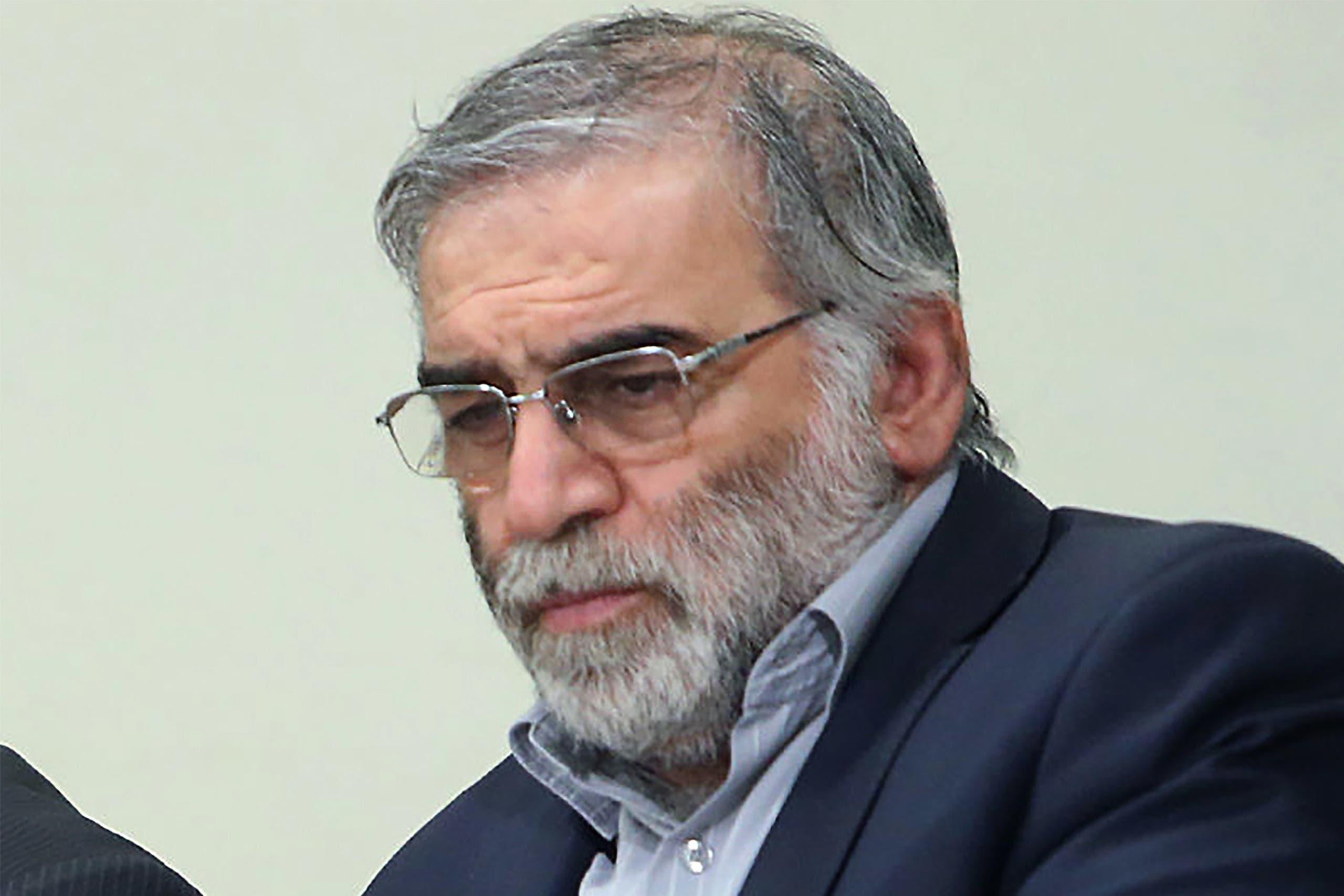 محسن فخري زاده  (رويترز