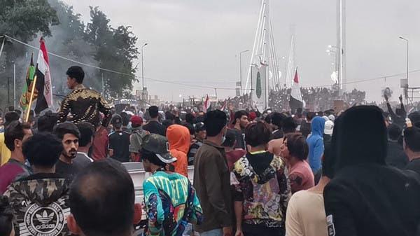 مظاهرات الناصرية تسفر عن قتيل وعشرات الجرحى