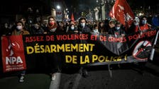Paris protesters clash with police at protest against police violence