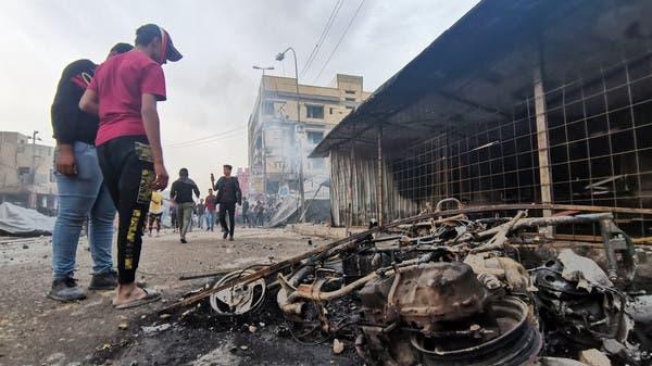 العراق والكاظمي: العراق.. مقتل متظاهر وإصابة 30 في تظاهرات الناصرية
