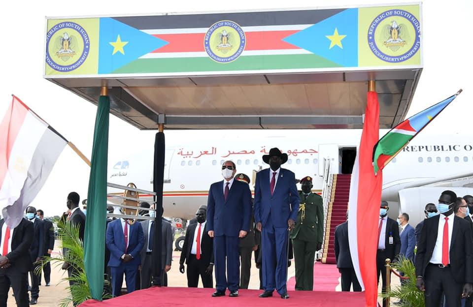 السيسي في جنوب السودان