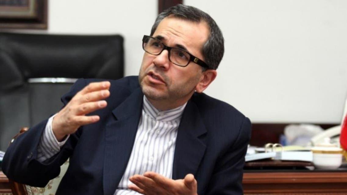 مندوب إيران في الأمم المتحدة مجيد تخت روانجي