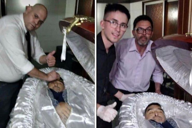 الصور التي أشعلت غضب محبي مارادونا