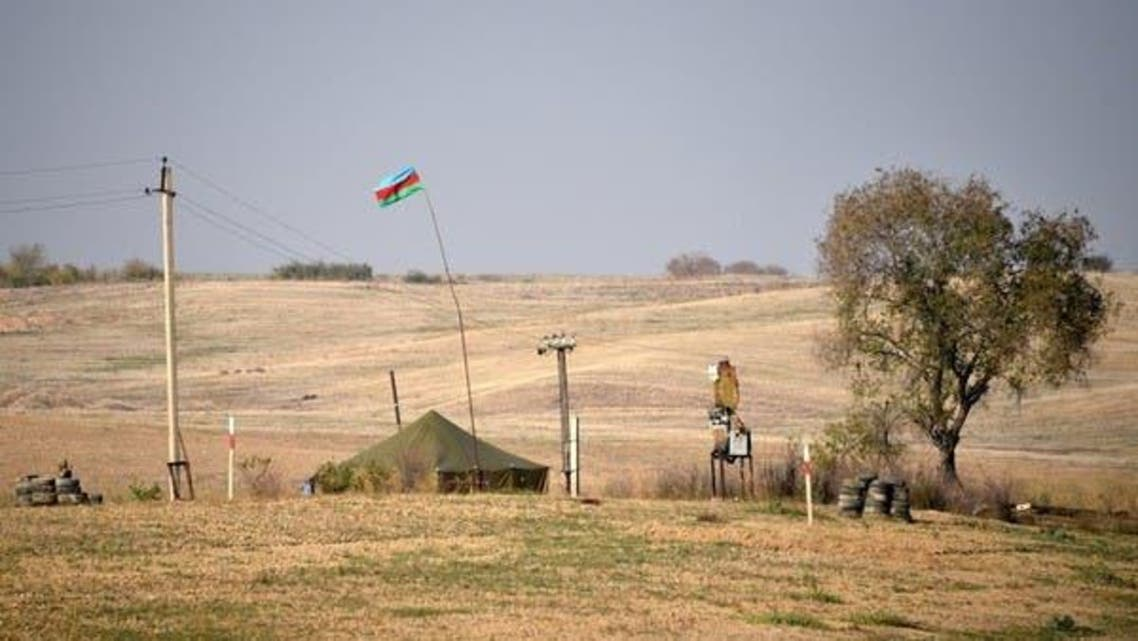 Azeribaijan Forces Camp