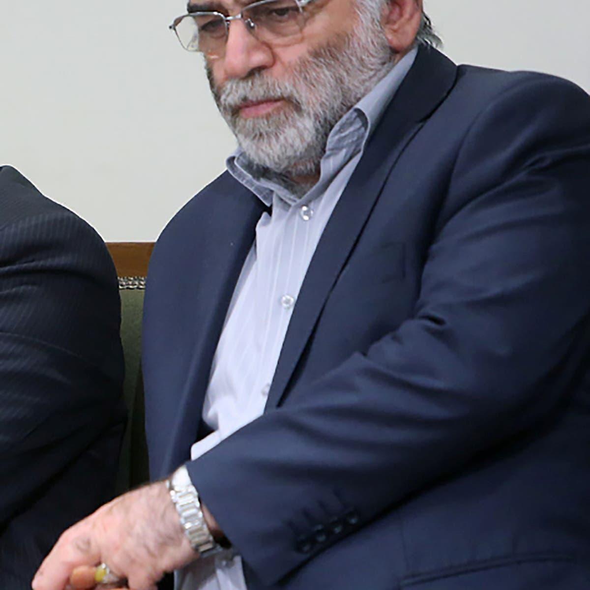 الأمن الإيراني: فتح ملفات لدى الإنتربول لجميع الضالعين بمقتل فخري زاده
