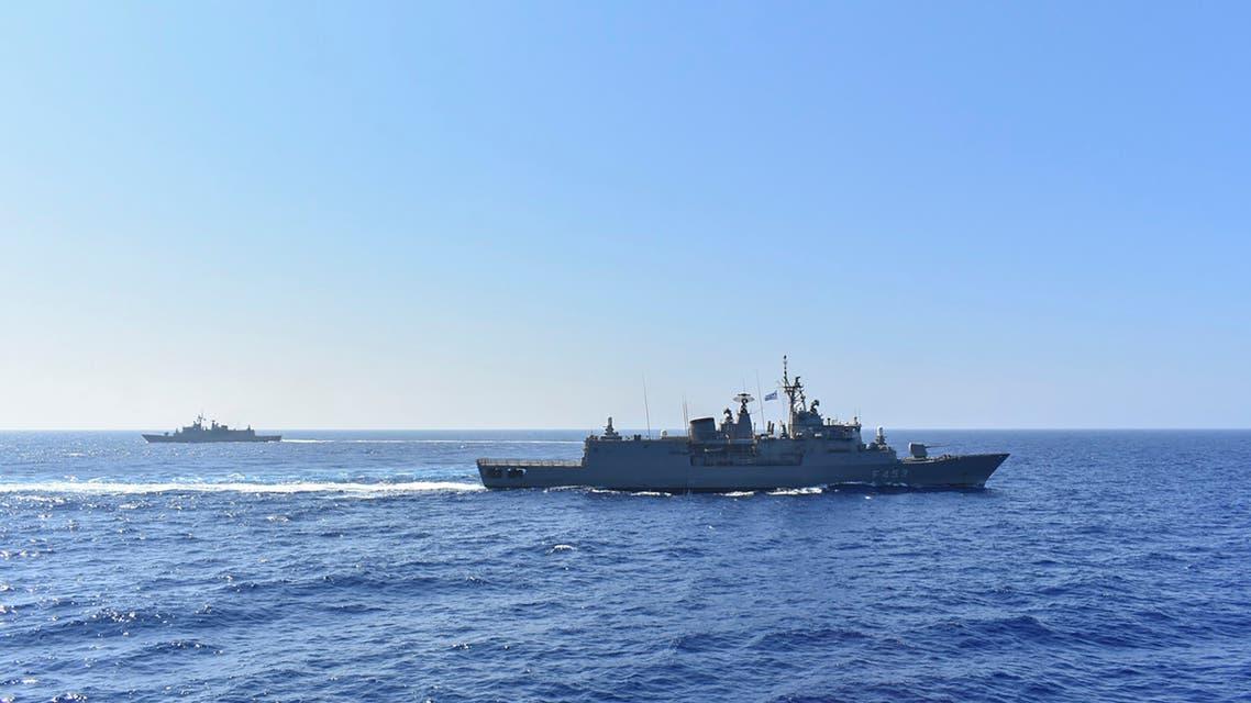 Greek ship - File photo: AFP