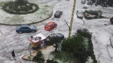 Lebanon experiences total power outage as severe storm rages