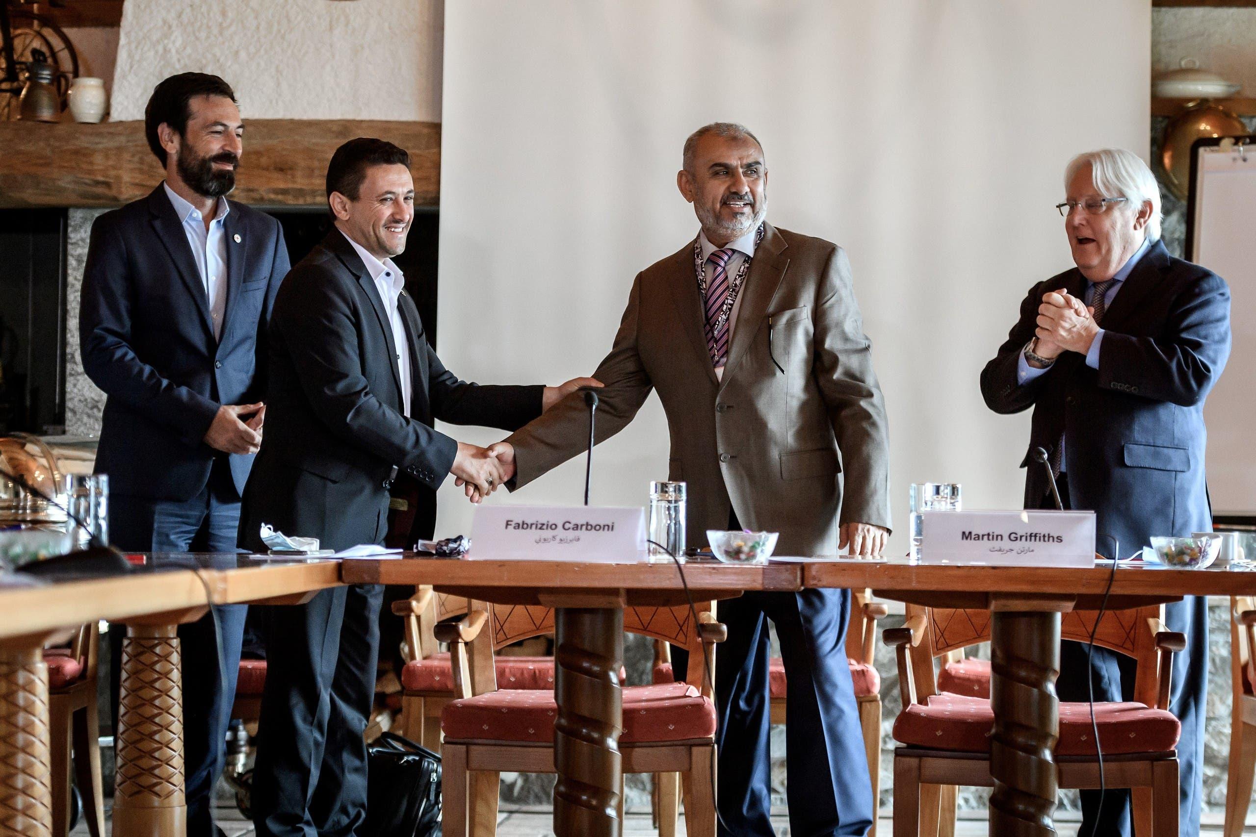 توقيع اتفاق مع الحوثيين في سويسرا في سبتمبر الماضي لتبادل الأسرى