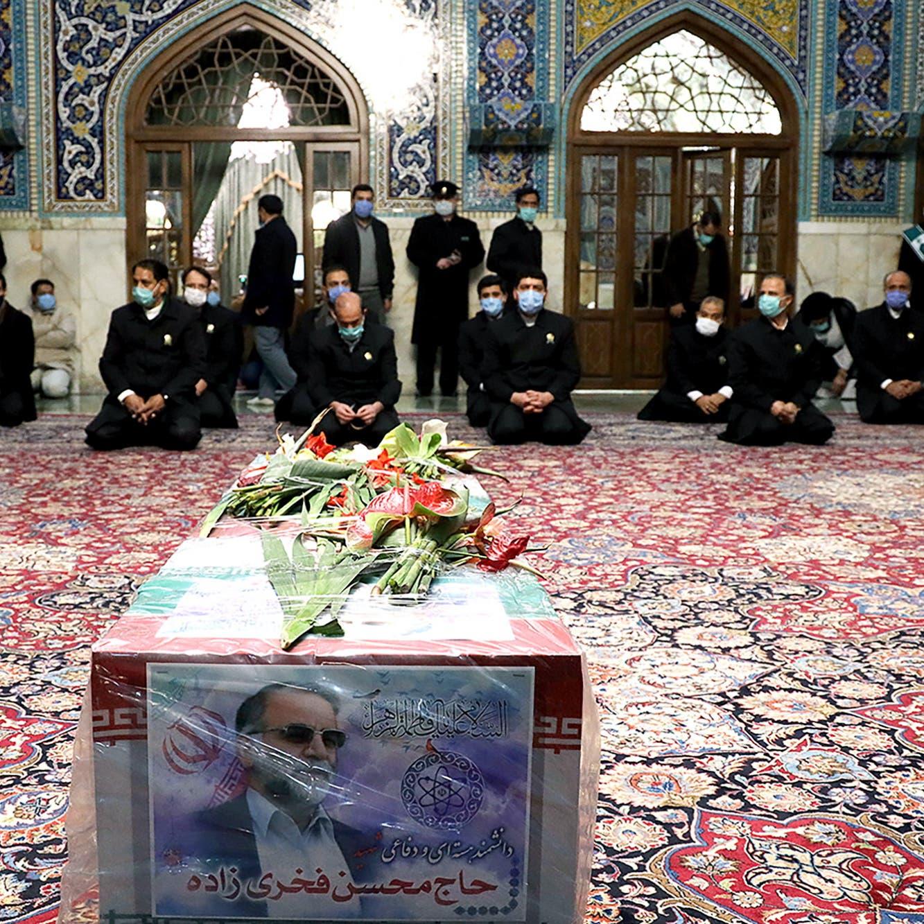 إيران: السلاح المستخدم في اغتيال فخري زاده يعود للناتو
