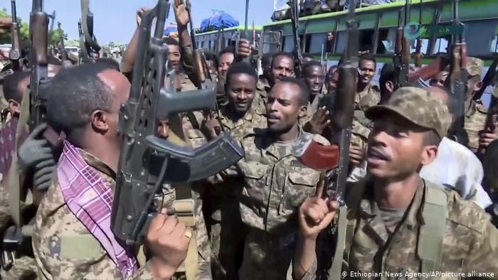 عناصر من الجيش الإثيوبي