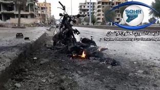 انفجار موتورسیکلت بمبگذاری شده در حومه درعا سوریه 3 مجروح بر جای گذاشت