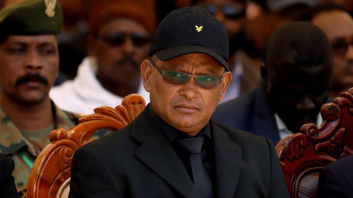 FILE PHOTO: Debretsion Gebremichael, Tigray Regional President, attends the funeral ceremony of Ethiopia's Army Chief of Staff Seare Mekonnen in Mekele, Tigray Region, Ethiopia June 26, 2019. Picture taken June 26, 2019. REUTERS/Tiksa Negeri/File Photo