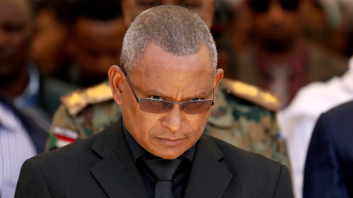 FILE PHOTO: Debretsion Gebremichael, Tigray Regional President, attends the funeral ceremony of Ethiopia's Army Chief of Staff Seare Mekonnen in Mekele, Tigray Region, Ethiopia June 26, 219. Picture taken June 26, 2019. REUTERS/Tiksa Negeri/File Photo/File Photo
