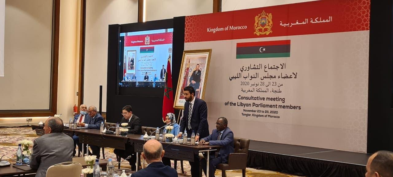من الاجتماعات الليبية في طنجة