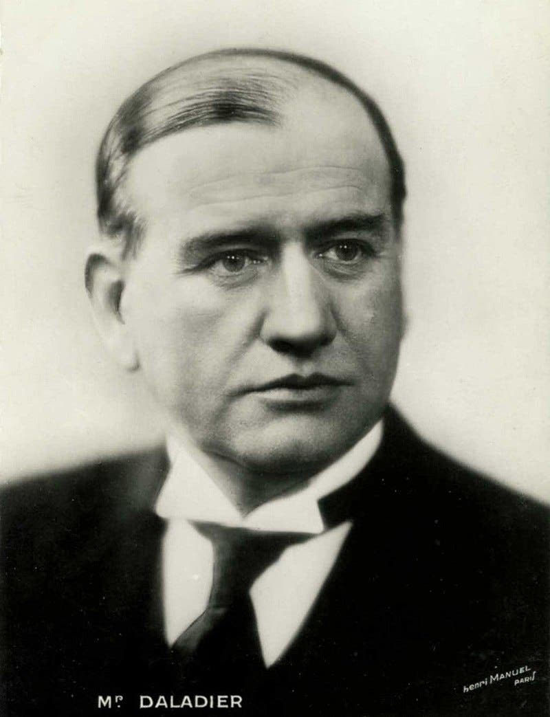صورة لرئيس وزراء فرنسا دالدييه