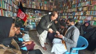 مردی افغان از پول شخصیاش برای 500 فرد نابینا «کتاب صوتی» توزیع کرد