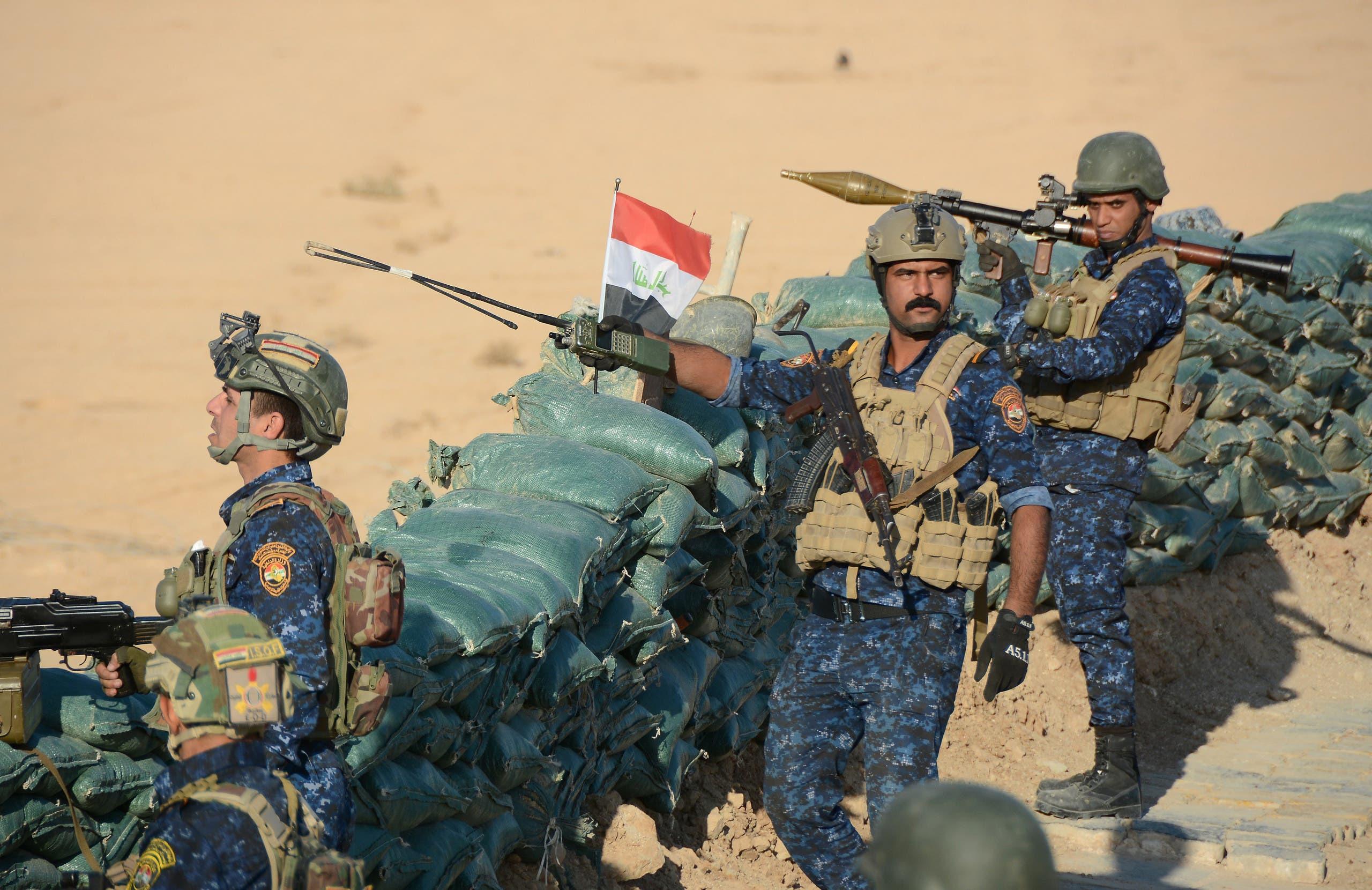 قوات الأمن العراقية (أرشيفية من فرانس برس)