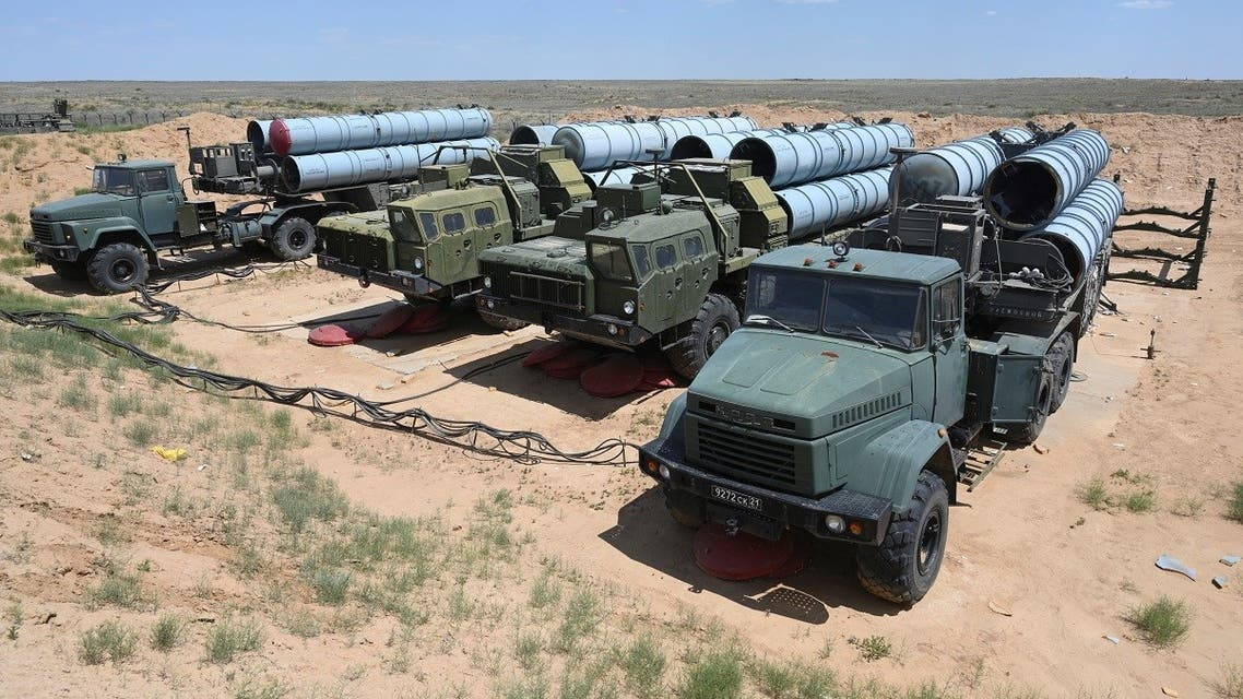 A view shows Russian S-300 missile systems during military exercises at the Ashuluk shooting range near Astrakhan, Russia June 19, 2019. (Reuters/Sergey Pivovaro)