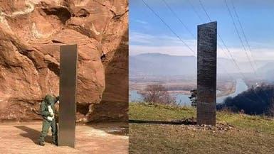 جسم معدني يظهر بأرياف رومانيا بعد اختفائه من صحراء بأميركا