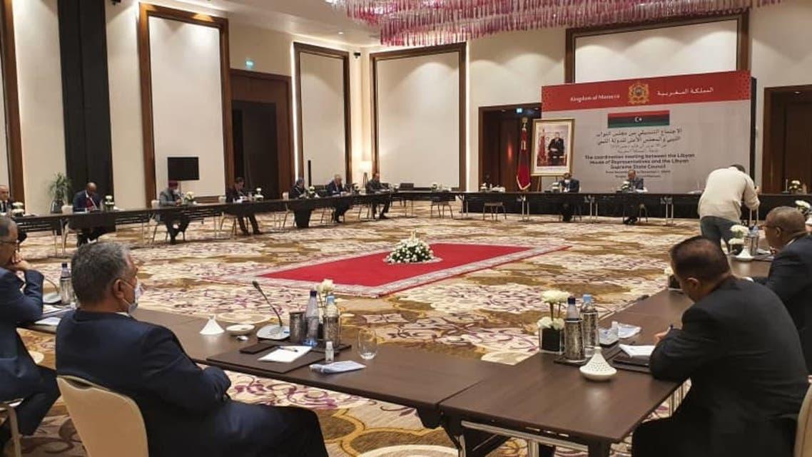 الحوار السياسي الليبي في المغرب طنجة