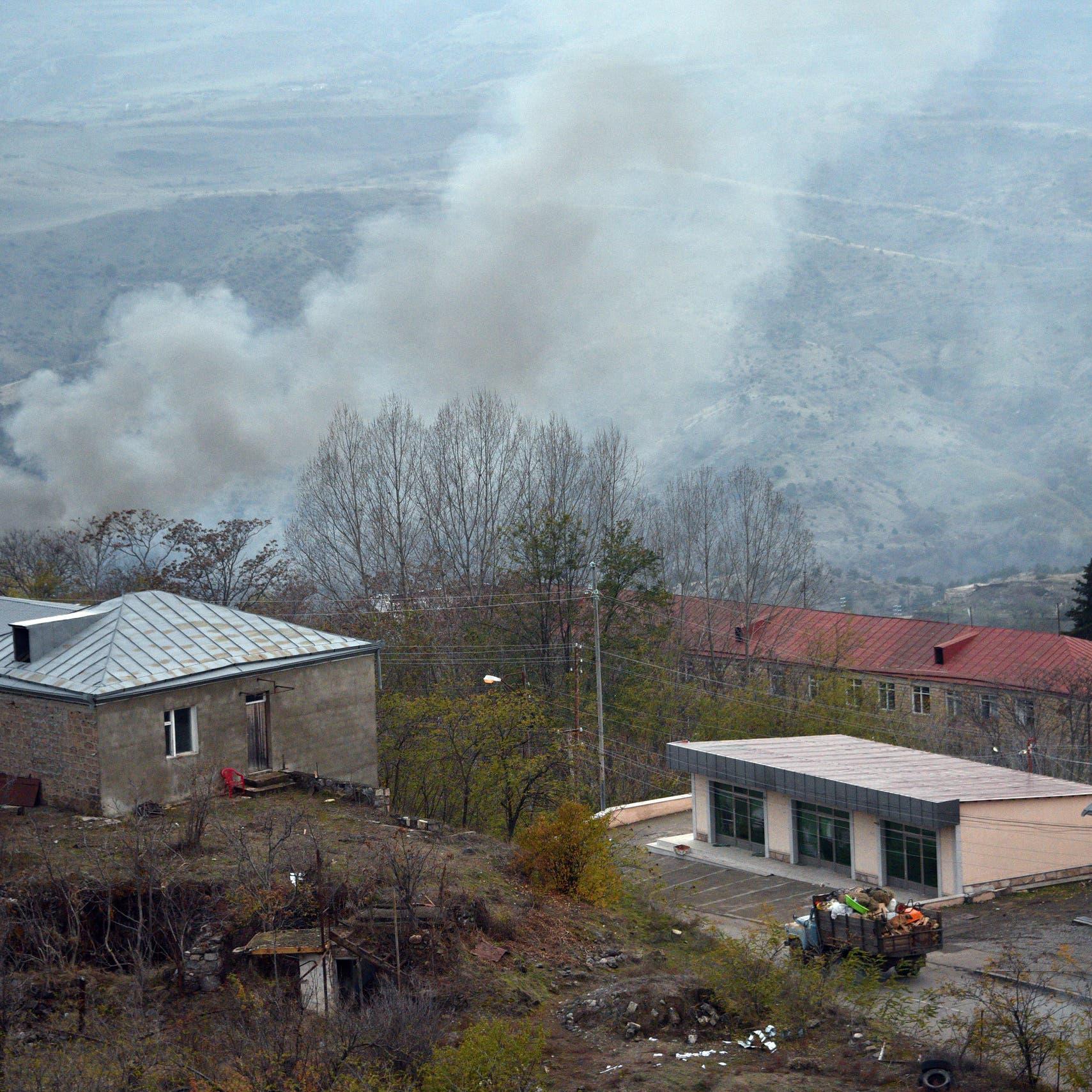 أذربيجان تدخل إقليماً ثالثاً محيطاً بكاراباخ سلّمته أرمينيا