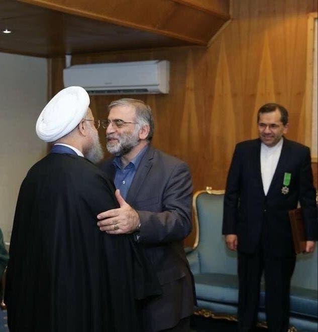 Iran: Hasan Rouhani and Fakharizaday