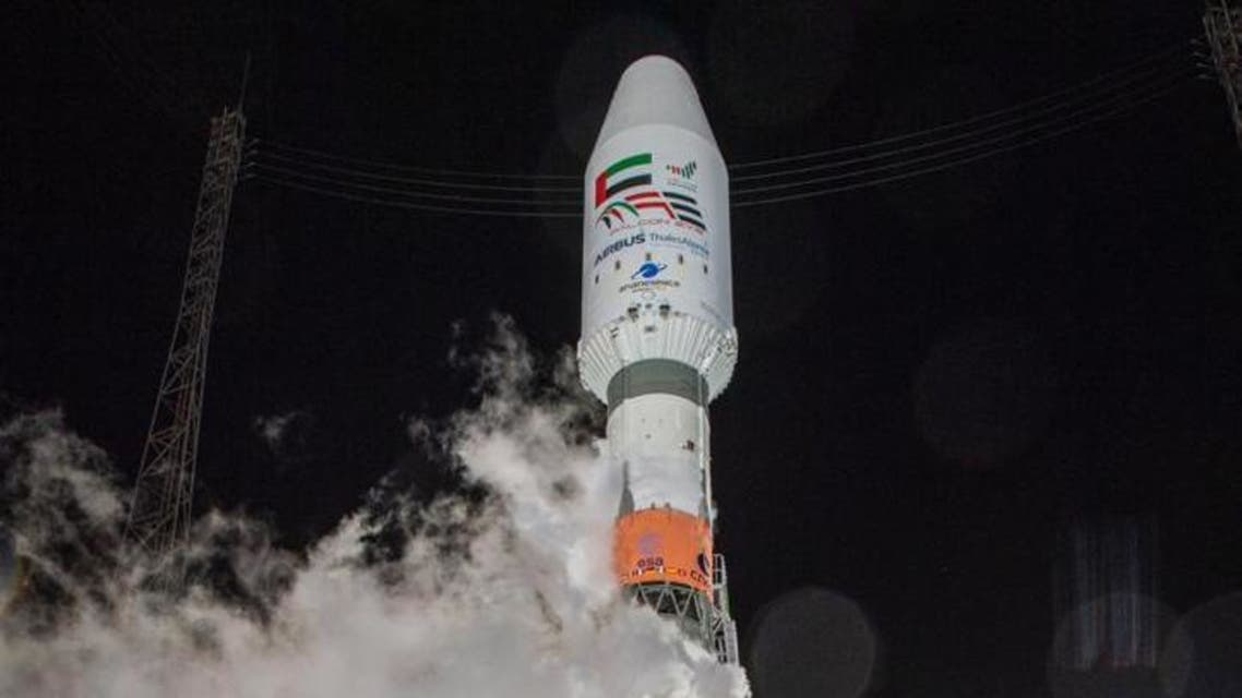The UAE's Falcon Eye satellite. (WAM)
