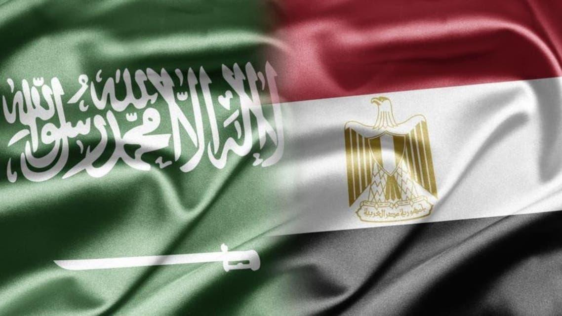 پرچم مصر و سعودی
