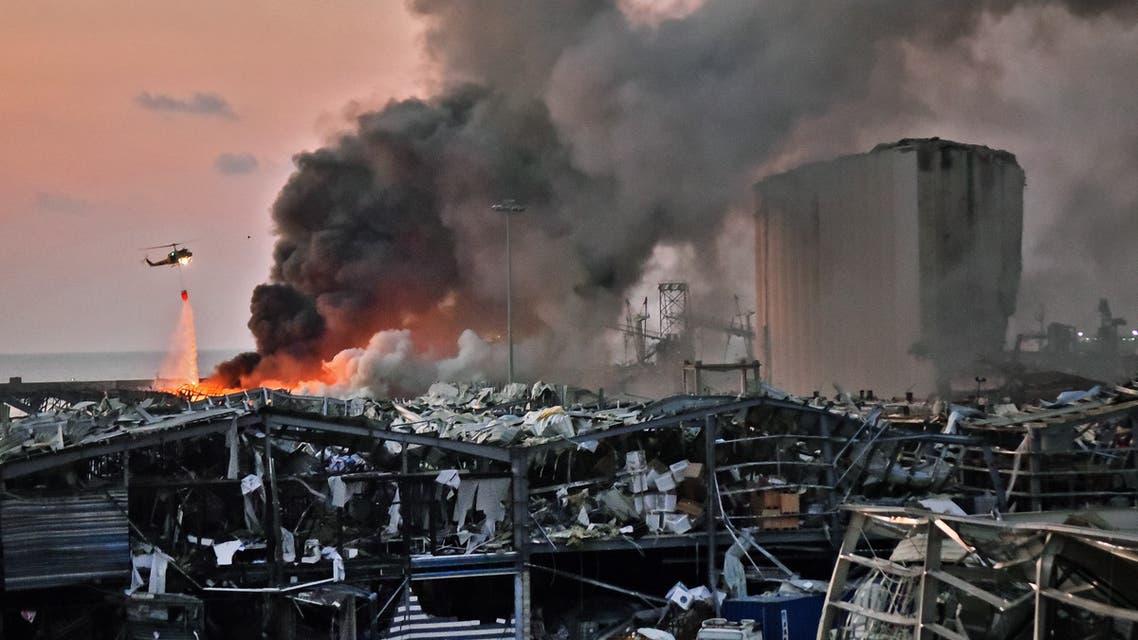 من انفجار مرفأ بيروت يوم 4 أغسطس