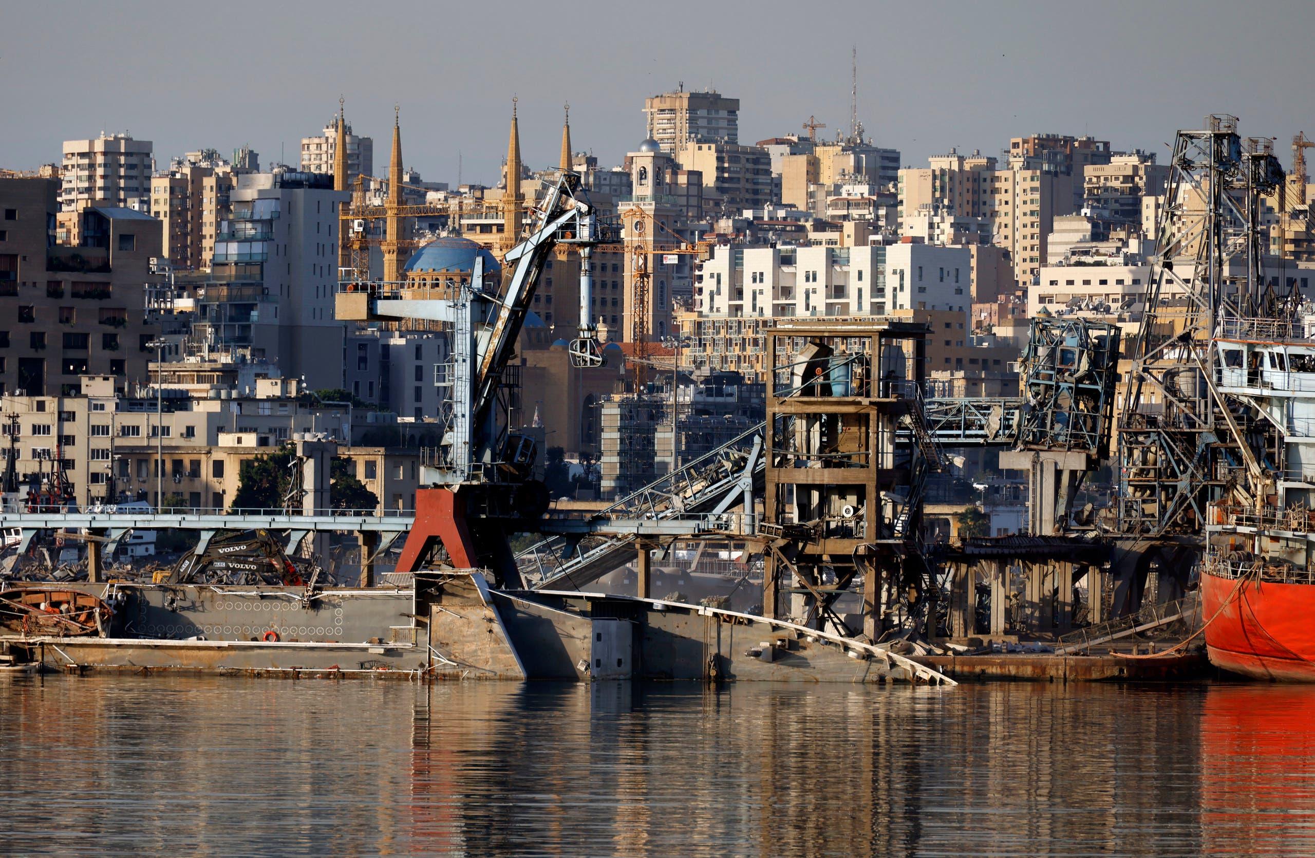 من مرفأ بيروت يوم 26 أكتوبر
