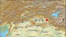ترکی کے جنوب مشرقی شہرسیرت میں ریختراسکیل پر 5 کی شدت کا زلزلہ
