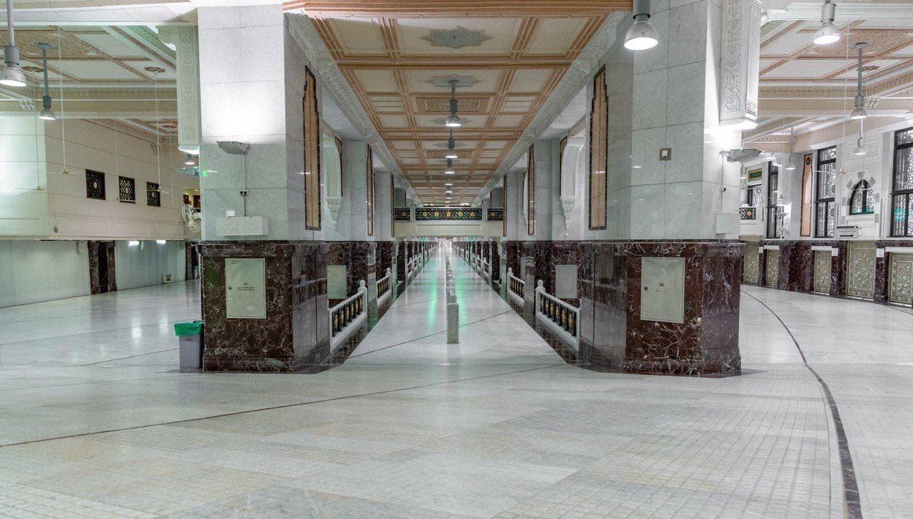 Masjid Haram marble slabs