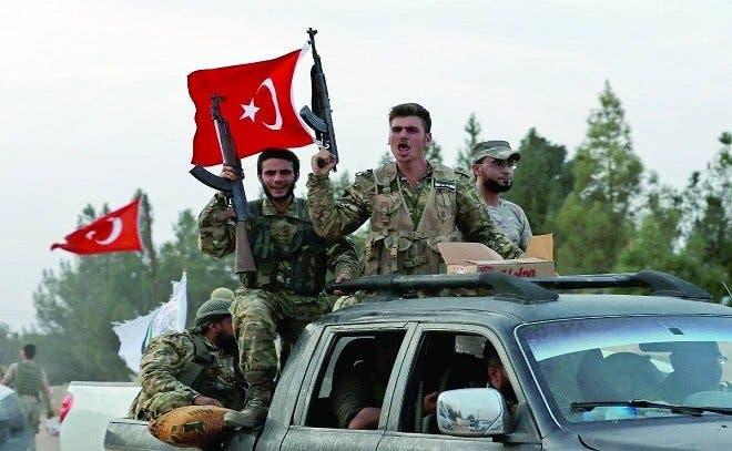 فصائل موالية لتركيا شمال سوريا (فرانس برس)