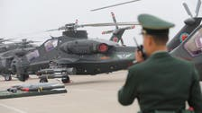 Taiwan reports large incursion by Chinese air force