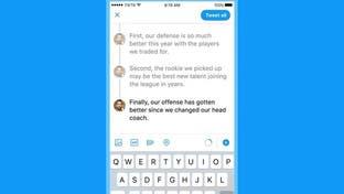 تويتر يقرر إنهاء اختبار ميزة الردود المترابطة