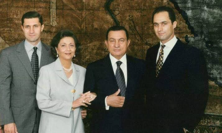 عائلة حسني مبارك