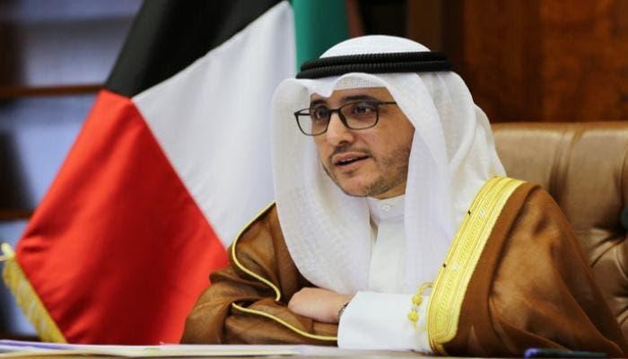 وزیر امور خارجه کویت شیخ احمد ناصر آل محمد محمد الصباح