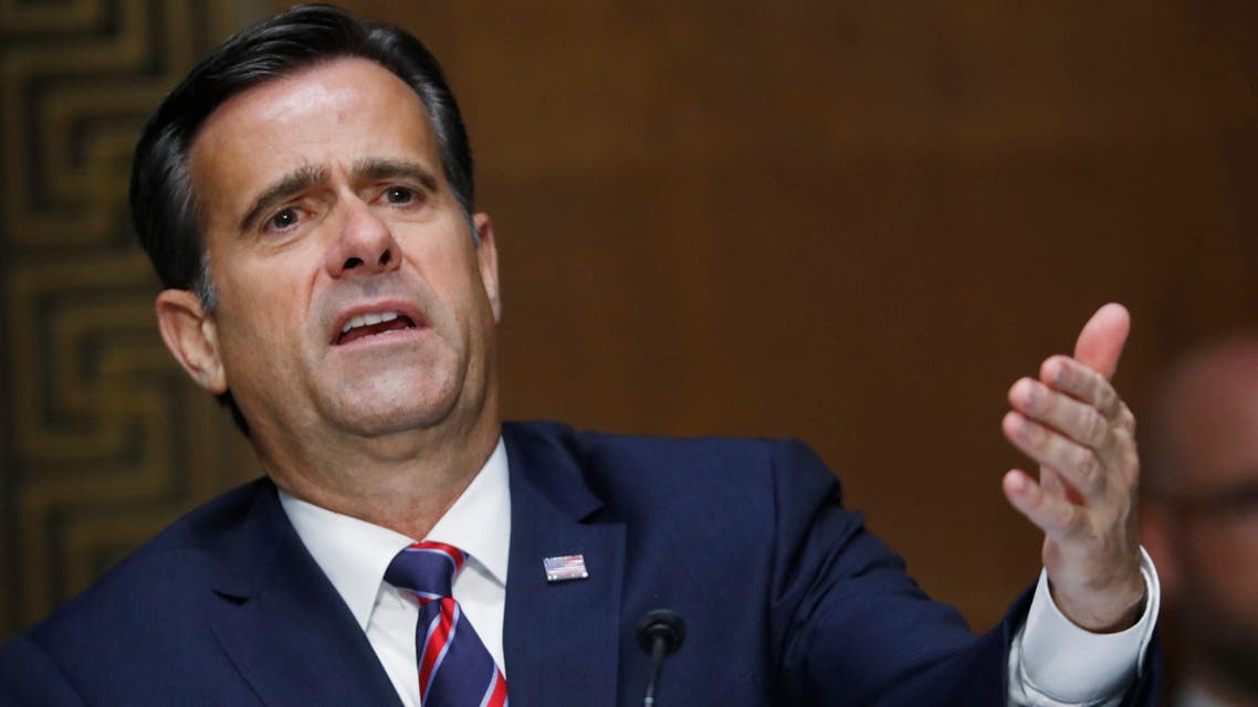 Rep. John Ratcliffe, R-TX, testifies before a Senate Intelligence Committee nomination hearing on Capitol Hill in Washington,DC on May 5, 2020. The panel is considering Ratcliffe's nomination for Director of National Intelligence.