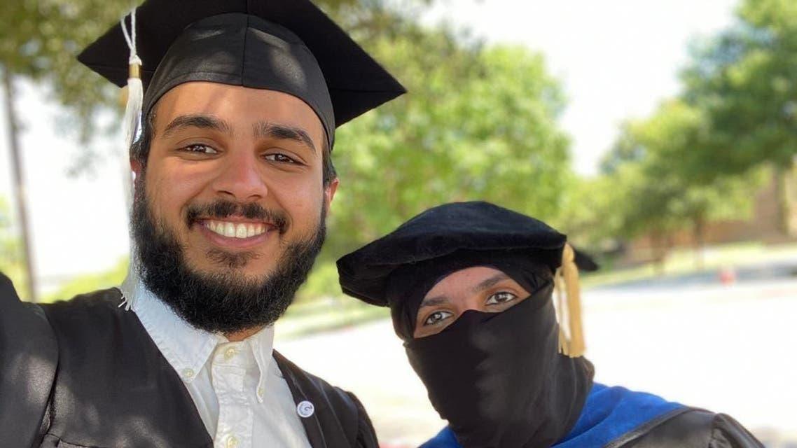 Saudi son and Mother