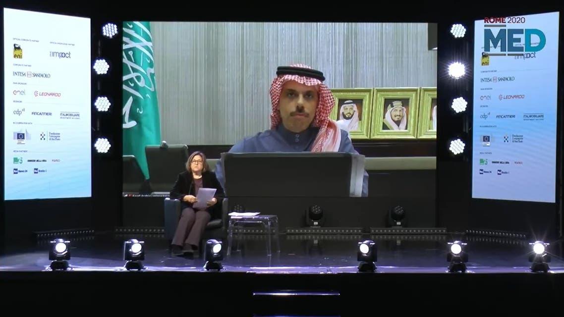 saudi Prince Faisal bin Farhan MED2020