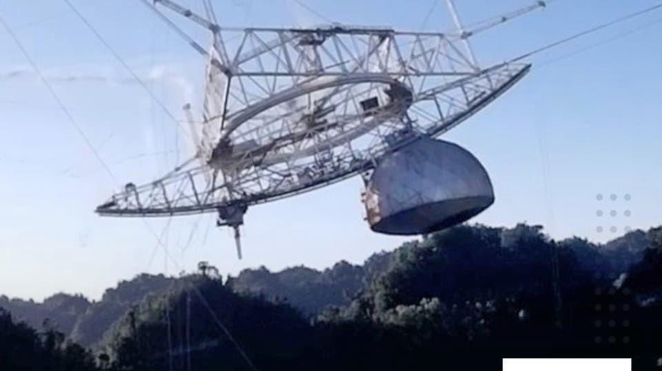 ارتبط اسمه بجيمس بوند.. سقوط مدو لأكبر تلسكوب في العالم