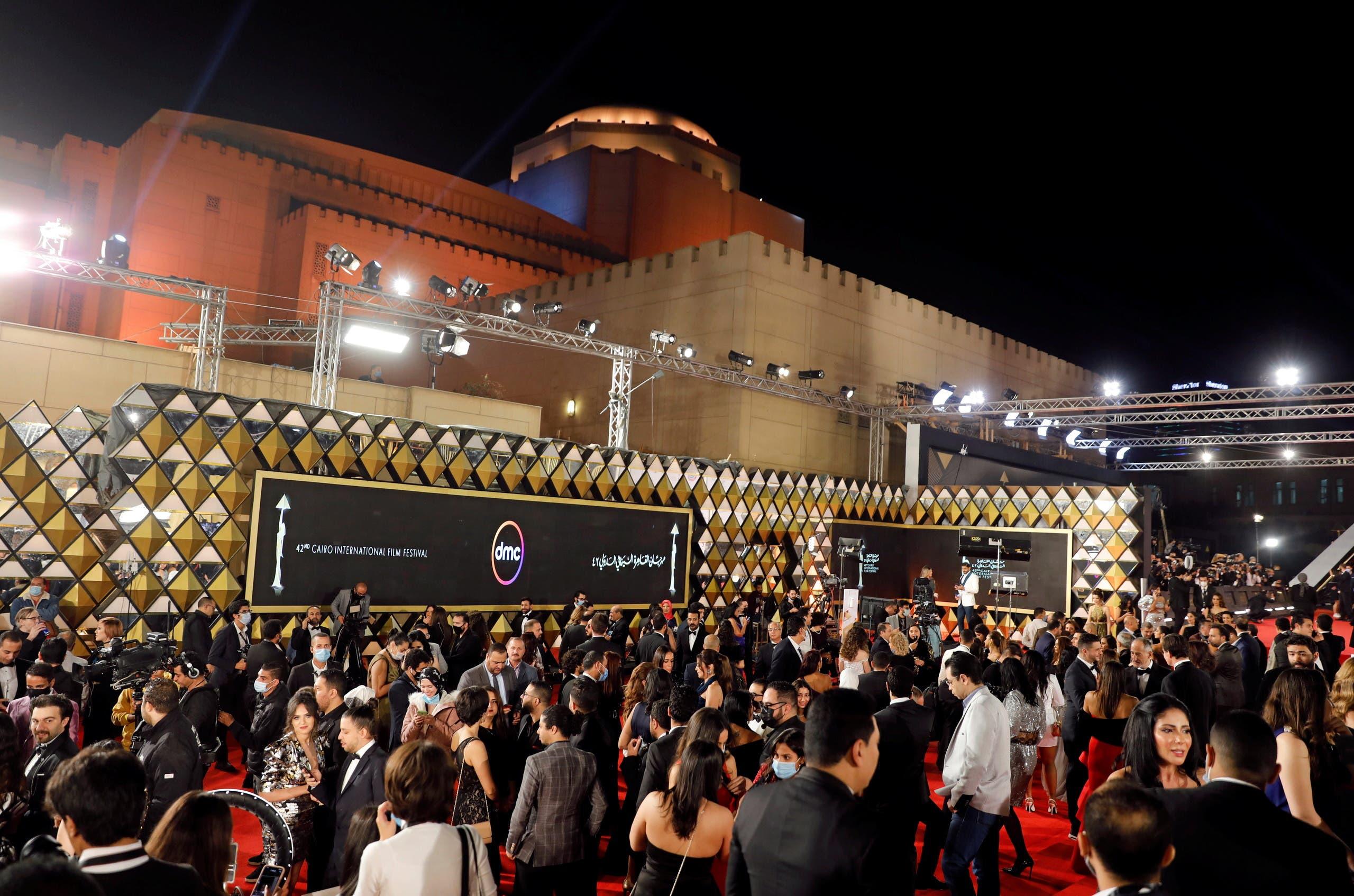 من افتتاح مهرجان القاهرة السينمائي