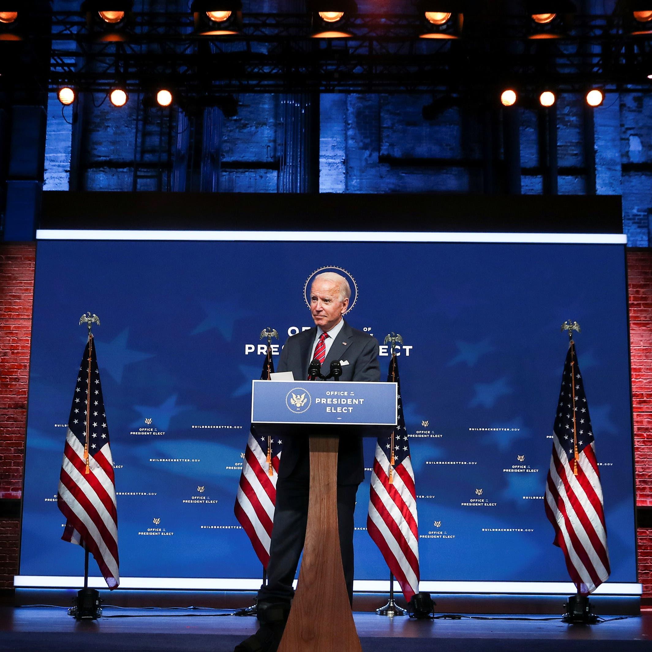 بايدن: استعادة مصداقية الولايات المتحدة بالعالم أولوية
