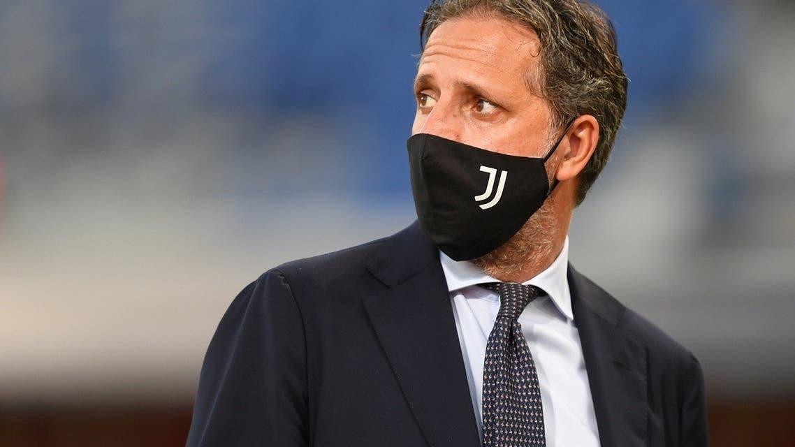 Juventus sporting director Fabio Paratici before a match. (Reuters)