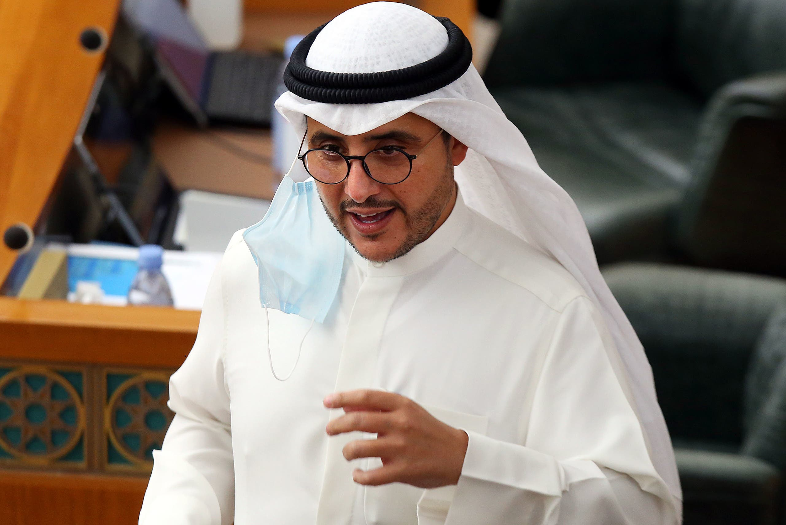 Kuwaiti Foreign Minister Sheikh Ahmad Nasser al-Sabah has been reappointed. (AFP)