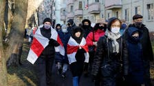 Thousands of anti-Lukashenko protesters march in Belarus, dozens arrested
