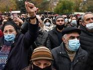 أرمينيا.. آلاف المتظاهرين يطالبون رئيس الوزراء بالتنحي