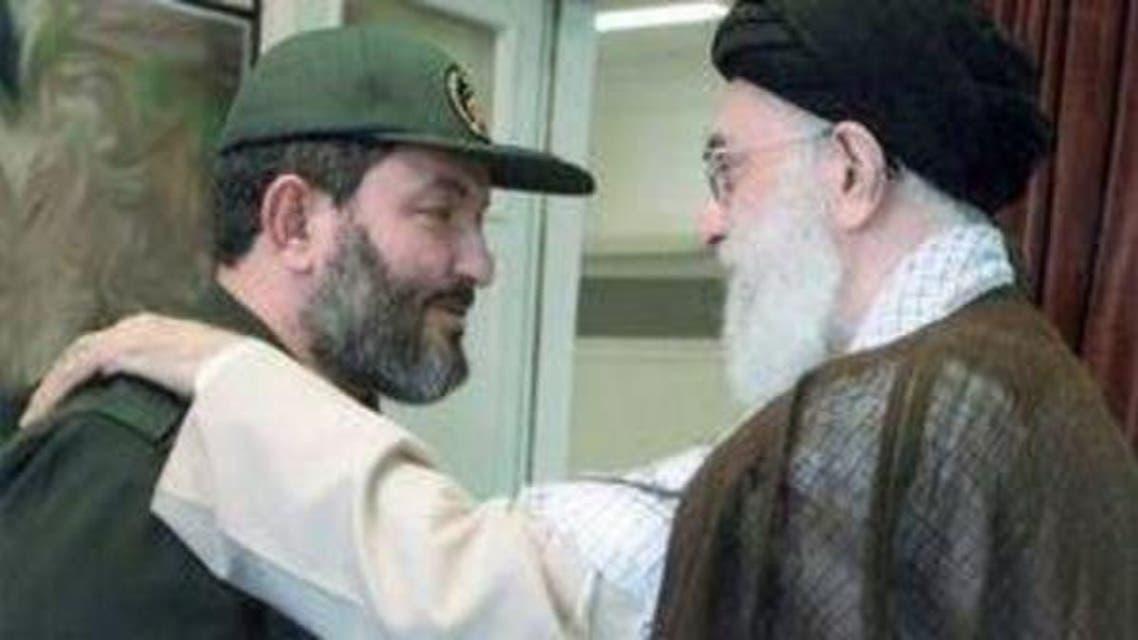 Iranian Commander With Khamna e